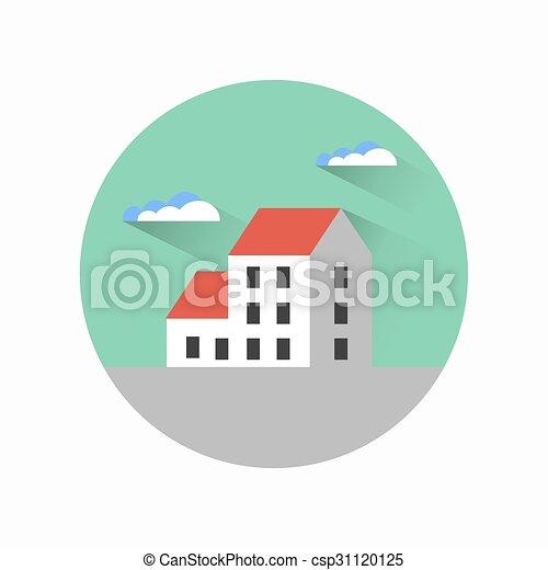 Flat city urban style - csp31120125
