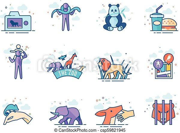 Flat color icons - - csp59821945