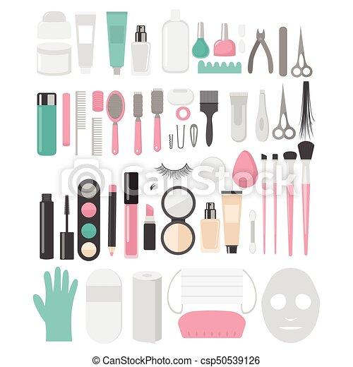 Manicure Tools Clip Art