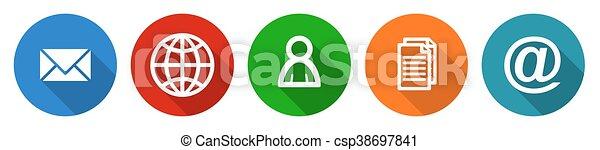 Flat design internet vector icon se - csp38697841