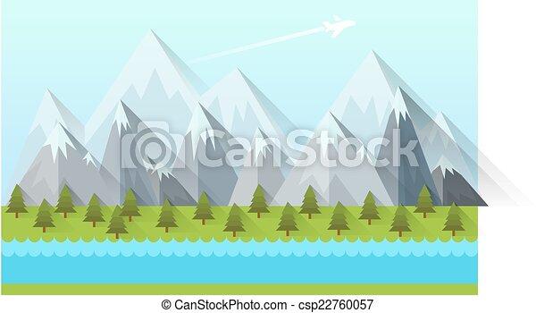 Flat design modern vector illustration  - csp22760057