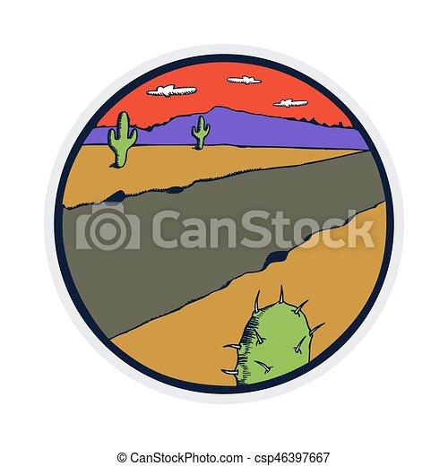 wild west arizona mountain flat design clipart vector graphics 56 rh canstockphoto com au grand canyon clipart Grand Canyon From Above