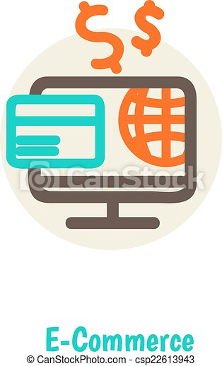 Flat design vector illustration concepts of online payment methods ...