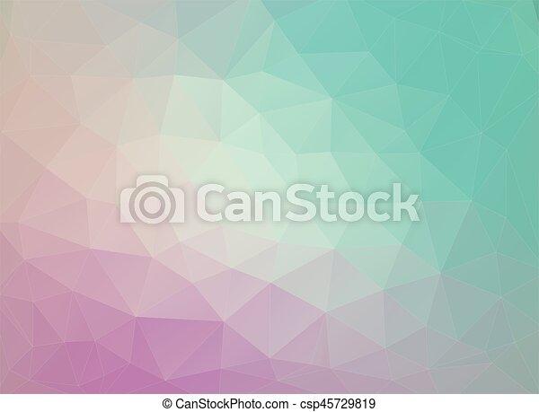 Flat Duocolor Geometric Triangle Wallpaper