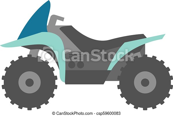 Flat icon - All terrain vehicle - csp59600083