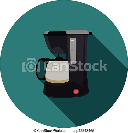 flat icon coffee maker - csp48843465