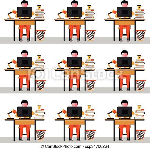 flat illustration open office in vector format eps10 clip art vector rh canstockphoto com open office clipart gratuit openoffice clipart download