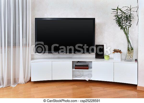 Flat screen TV - csp25228591