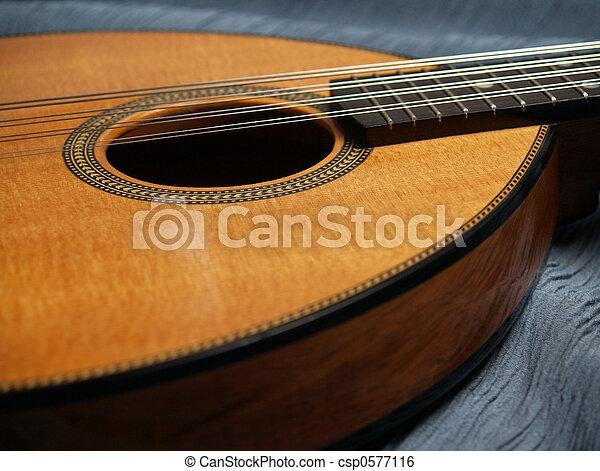 Flat-top Mandolin  - csp0577116