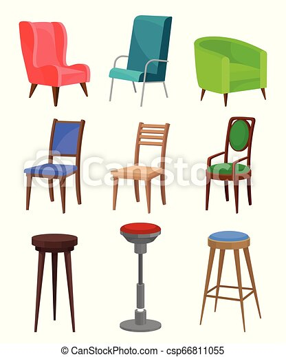 Pleasant Flat Vecroe Set Of Cozy Armchairs Dining Chairs And Bar Stools Modern Furniture Interior Objects Alphanode Cool Chair Designs And Ideas Alphanodeonline