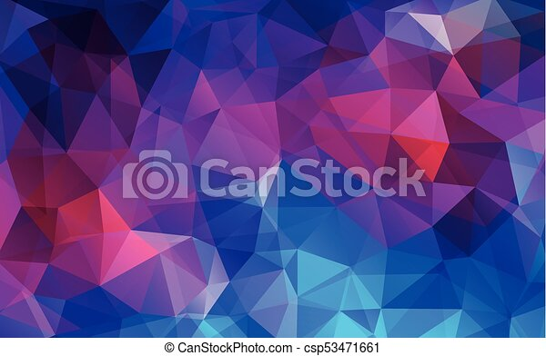 Flat Violet Color Geometric Triangle Wallpaper