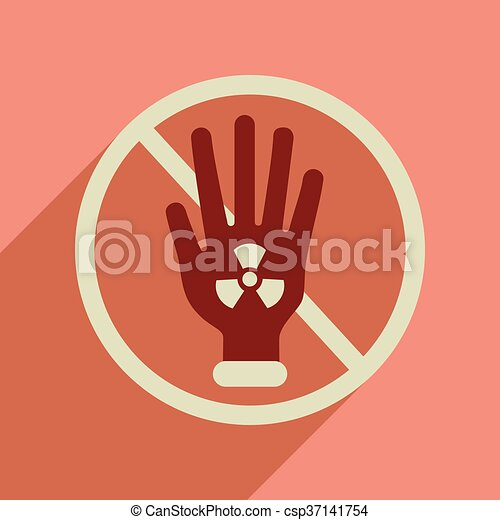 Flat web icon with long shadow toxic symbol flat web icon flat web icon with long shadow toxic symbol csp37141754 altavistaventures Images