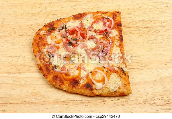 Flatbread pizza - csp29442470