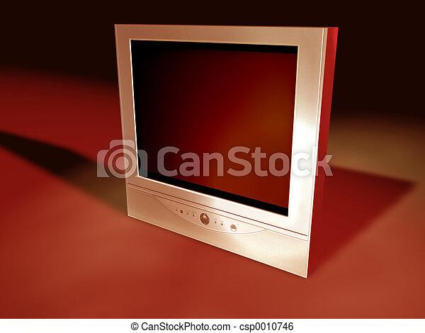 Flatscreen Tv - csp0010746