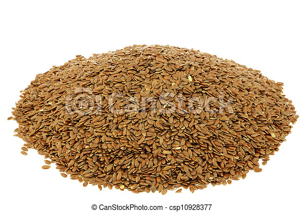 Flax seed (linseed) - csp10928377