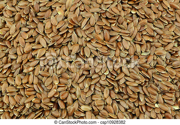 Flax seed (linseed) - csp10928382