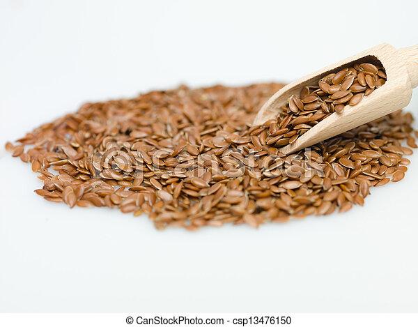 flaxseed - csp13476150
