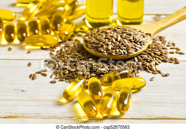 Flaxseeds And Linseed Oil