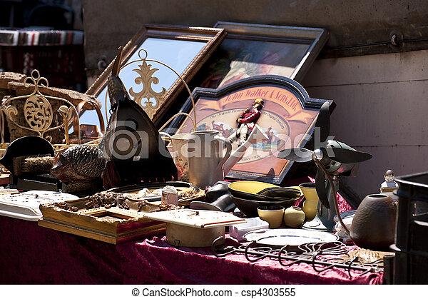Flea market - csp4303555
