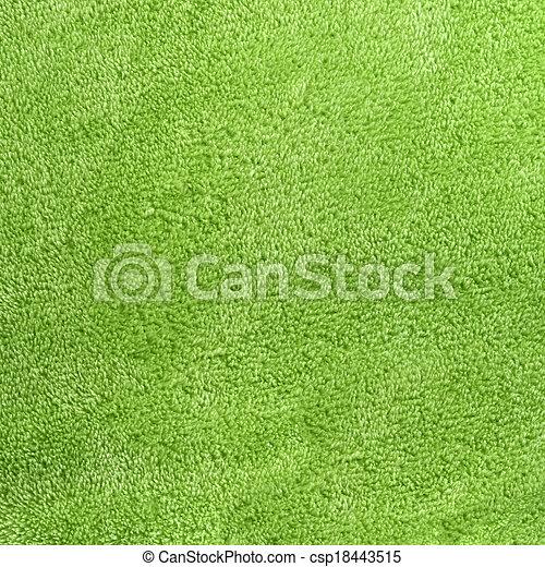 fleece, quadrado, sábio, micro, experiência verde, macio - csp18443515
