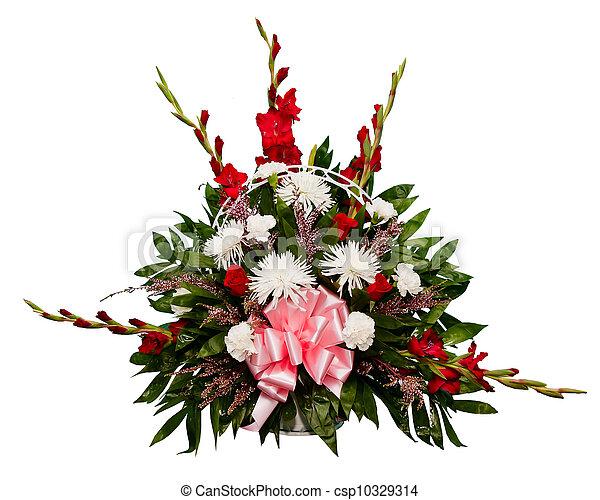 fleur, coloré, arrangement - csp10329314