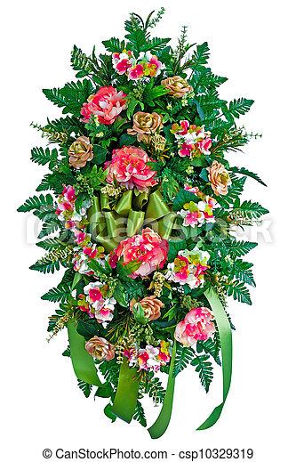 fleur, coloré, arrangement - csp10329319