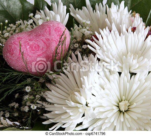 fleur, composition - csp6741796