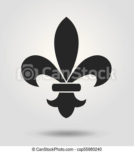 fleur de lis - csp55980240