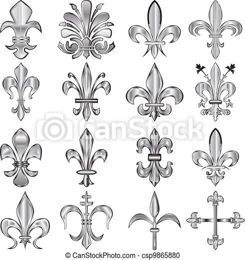 Fleur De Lis Pattern Vector Clip Art Eps Images 1284 Fleur De Lis