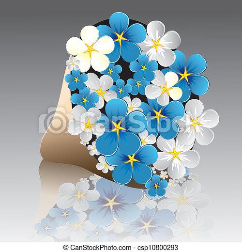 téléchargement de fleurs grises innocentes