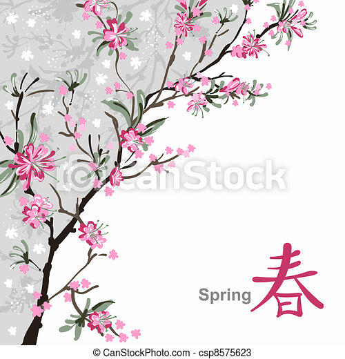 fleur sakura fleur japonaise fleurs sakura fond. Black Bedroom Furniture Sets. Home Design Ideas