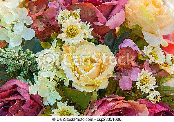 fleurs - csp23351606