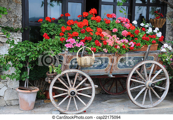 fleurs charrette ville jardin veliko charrette photographies de stock rechercher. Black Bedroom Furniture Sets. Home Design Ideas