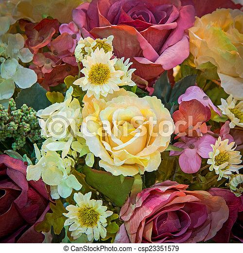 fleurs - csp23351579