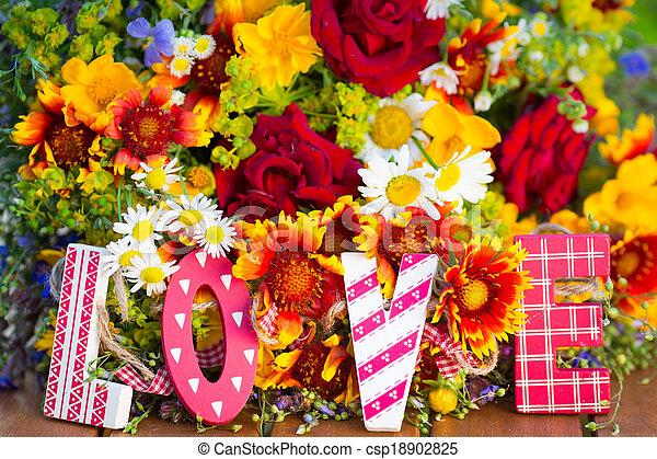 fleurs ressort - csp18902825