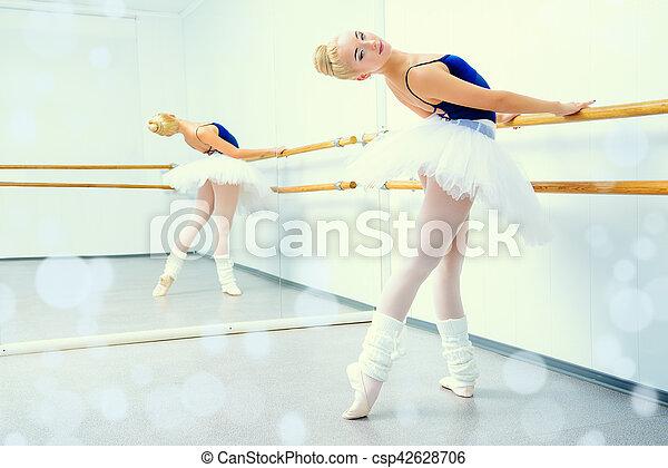 flexible ballerina - csp42628706