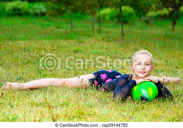 girl split Flexible