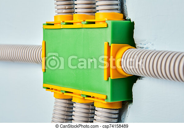 Flexible PVC conduit is connected to junction box. on feeding wire conduit wiring, galvanized conduit wiring, pvc tubing wiring, copper conduit wiring, bx conduit wiring, plastic conduit wiring,