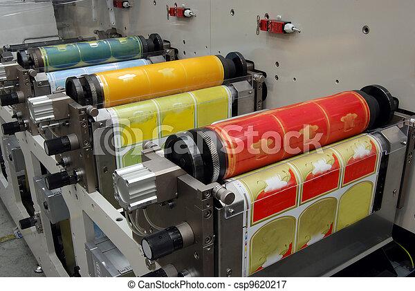 Flexo Printing Machine Uv Flexo Press For Printing Label