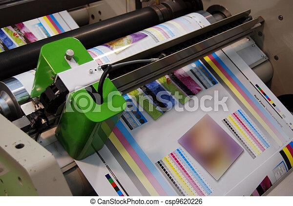 Flexo printing machine - csp9620226