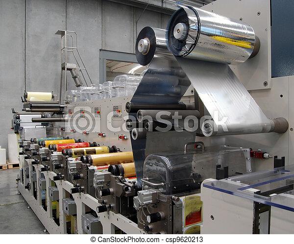 Flexo printing machine - csp9620213