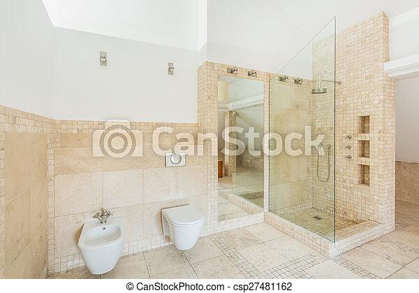 Fliesenmuster, badezimmer, gestein. Fliesenmuster, raum, badezimmer ...