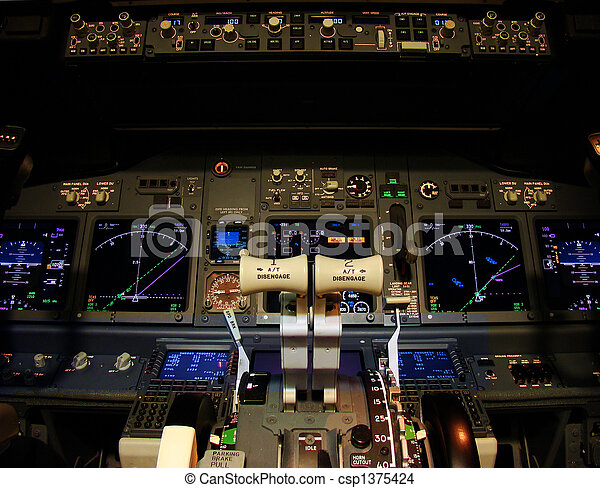Flight deck - csp1375424