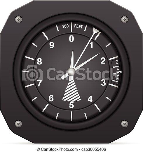 Flight instrument altimeter - csp30055406