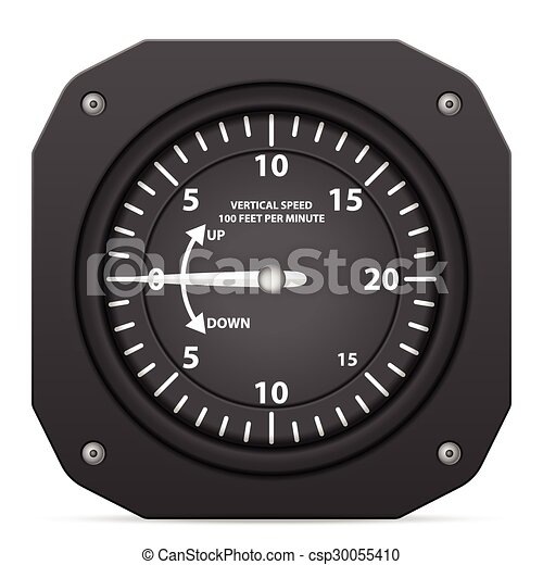 Flight instrument variometer - csp30055410
