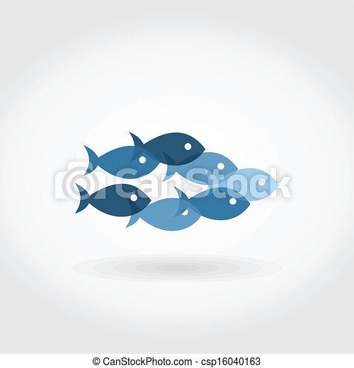 Flight of fishes5 - csp16040163