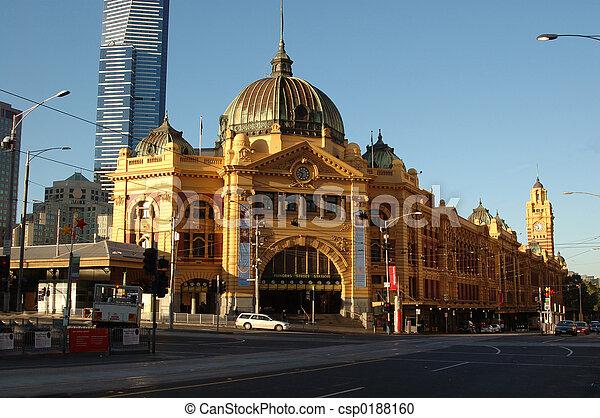 Flinders St Station - csp0188160