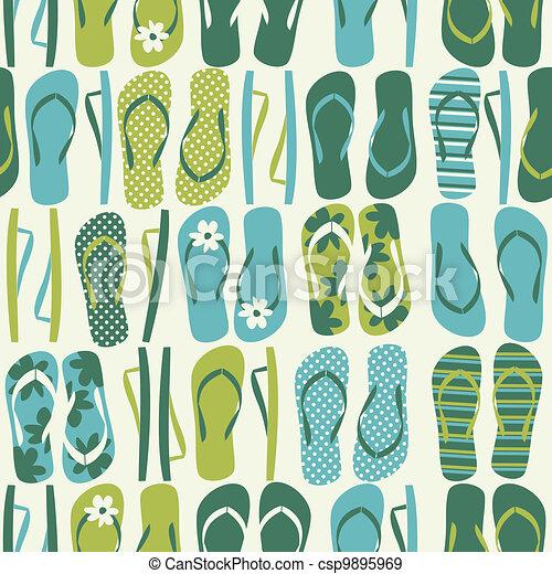 Flip Flops Background - csp9895969