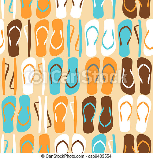 Flip-flops Background - csp9403554