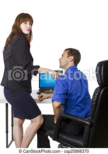 wife flirting with co worker